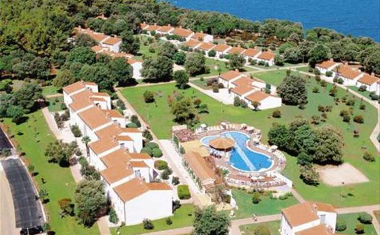 Holiday resort Tamaris Villas, Porec, in Westküste Istrien 6 persons, 2 bedrooms Lanterna